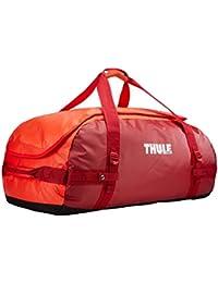 Thule Chasm 90L - Bolsa de viaje, color rojo