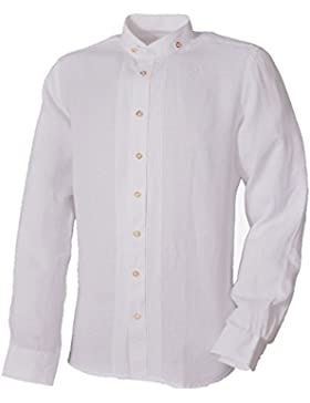 Almsach Trachtenhemd WIPFELD Wei