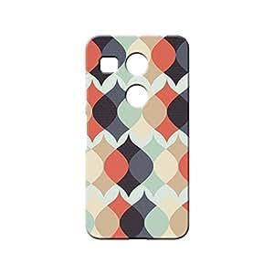 BLUEDIO Designer 3D Printed Back case cover for LG Nexus 5X - G0399