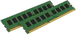 KVR16LN11K2/8 Kingston 2X4GB 1600MHz DDR3L CL11 Non-ECC DIMM 1.35V