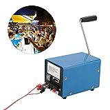 HKANG® Outdoor 20W Generatore A Manovella Manuale di Sopravvivenza di Emergenza di Alimentazione Multi-Funzione Manovella Generatore di Escursione di Campeggio di Sopravvivenza