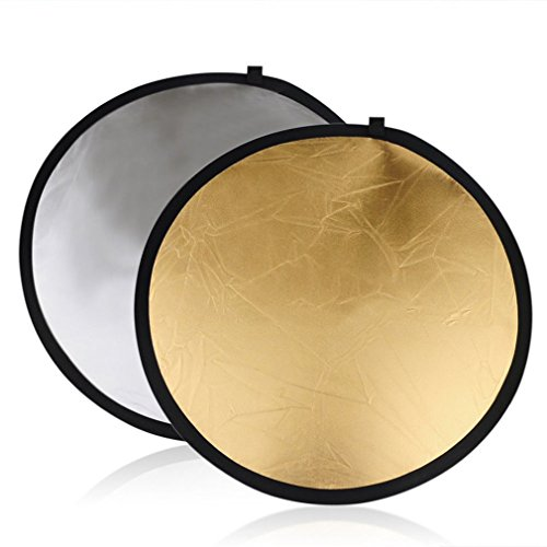 Preisvergleich Produktbild Golden / Splitter Runde 5 in 1 Fotografie Studio Licht Mulit Collapsible Disc Reflektor (Farbe: Golden & Splitter & Black & White & Tran)