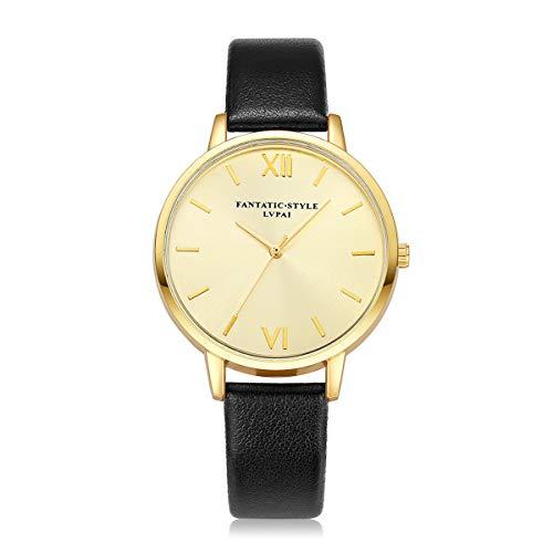 Relojes Hombre,Hanomes,Relojes LVPAI Relojes de Cuarzo para Mujer Relojes de Vestir para Mujer Relojes de Regalo