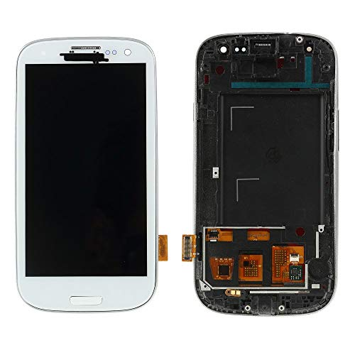 BEST2MOVIL Pantalla Completa LCD + TACTIL + Marco Samsung Galaxy S3 I9300 Blanco
