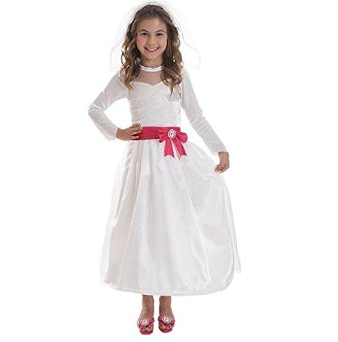 Amscan Barbie™ Braut-Kostüm für Mädchen - 3-5 Jahre