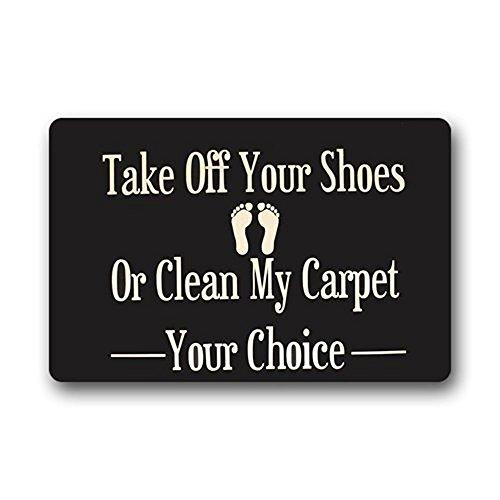 Stoff Akzent Möbel (Custom Waschmaschine gewaschen Fußmatte Take Off Your, Schuhe oder reinigen My-Teppich Fußmatte, mehrfarbig)