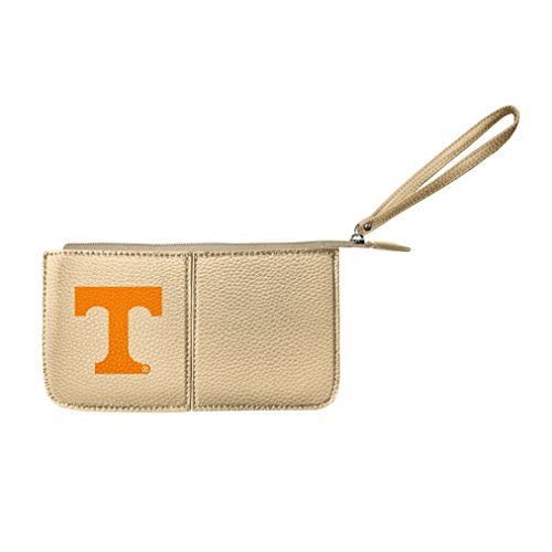Littlearth Damen NCAA Tennessee Freiwilligen Pebble Wristlet, Gold, 20,3 x 10,2 x 2,5 cm -