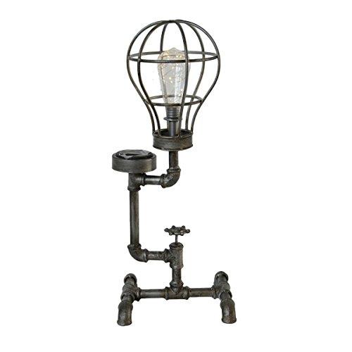 Garden Pleasure Vintage Loft Retro-Industrie Solar Leuchte CORNELIUS Gartenlampe Außenlampe Gartenleuchte