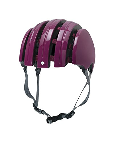 Carrera FOLDABLE_C Fahrradhelm, Red Iride, 58