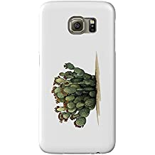Prickly Pear Cactus (Galaxy S6 Cell Phone Case, Slim Barely There)