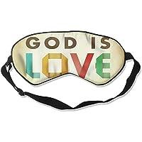 Sleep Eye Mask God is Love Lightweight Soft Blindfold Adjustable Head Strap Eyeshade Travel Eyepatch E1 preisvergleich bei billige-tabletten.eu