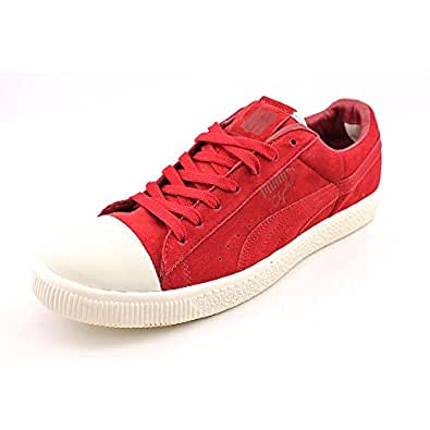 Puma Mens Clyde X Undftd Coverblock Sneaker Shoe, Rio Red