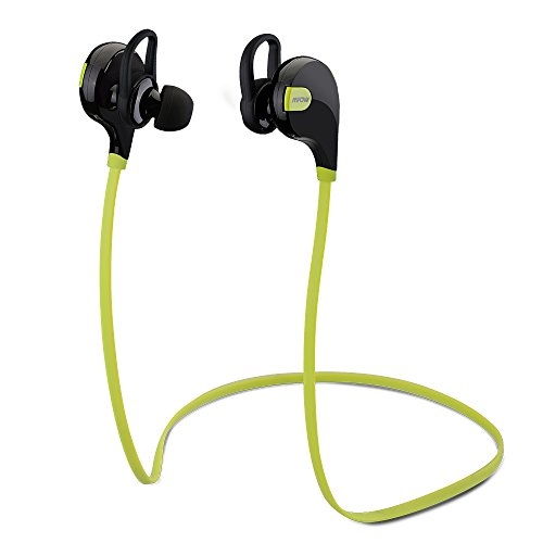 Mpow Swift - Auriculares In-Ear (Bluetooth v4.0, AptX), color verde