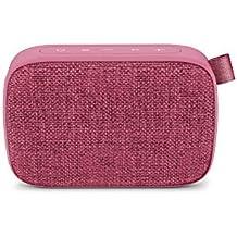 Energy Fabric Box 1+ Pocket Grape - Altavoz portátil (TWS, Bluetooth v5.0, 3W, USB & microSD MP3, FM Radio, Audio-In), Color Morado (Grape)