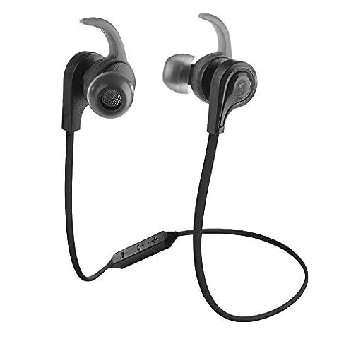 Labvon Bluetooth Headphones Lightweight V4.2 Wireless Sport Stereo In-Ear Noise