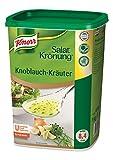 Knorr Salatkrönung Knoblauch Kräuter Dressing (Trockenmischung für Salatdressing mit ausgesuchten Kräutern, Gewürzen und Knoblauchnote) 1er Pack (1 x 1 kg)