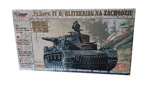 Mirage Hobby 72854, Deutsches Panzer PzKpfw.IV,