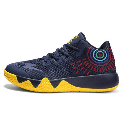 Qianliuk Männer Basketball Schuhe Ehepaar Midium Cut Basketball Sneakers Unisex Sport Schuhe