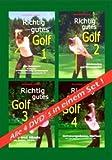 Richtig gutes Golf - Alle 4 DVD's in einem Set!