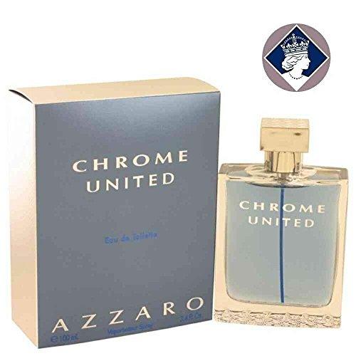 Azzaro Chrome United 100ml/3.4oz Eau De Toilette Spray Cologne Fragrance for Men