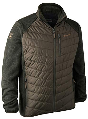 Deerhunter 5572 Moor Wattierte Jacke mit Strick, Größe XL, Farbe 393 - DH Timber