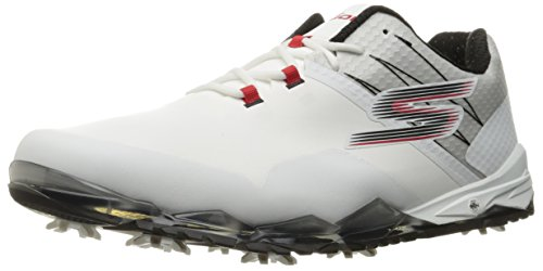 skechers-mens-gogolf-focus-golf-shoes-mens-white-black-red-8-regular-fit-mens-white-black-red-8-regu