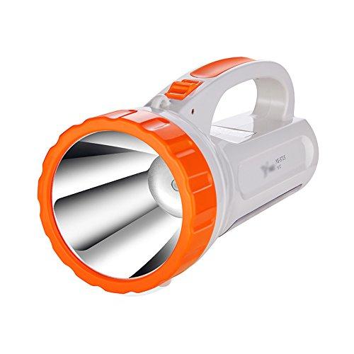 Flashlighx Portable d'urgence LED Spotlights Lampe de Poche Camping Lanterne Projecteur Torche Lumière Projecteur De Poche Travail Navigation Bureau Lampe Lumière 2-Mode