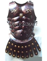 NauticalMart Medieval LARP Greek Copper Cuirass Muscle Armor By