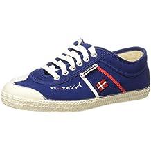 Kawasaki 2390 Ed Ex Sho - Zapatillas de lona / canvas para hombre, color azul / rojo / blanco