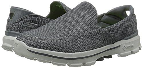 Skechers De Los Hombres Ir A Pie 3 Malla Resbalón-en El Zapato HENm5UiGs
