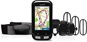 Garmin Edge 1000 Bundle GPS-Radcomputer inkl. Herzfrequenz-Brustgurt - 7,6 cm Touchscreen, ANT+, inkl. Sensoren