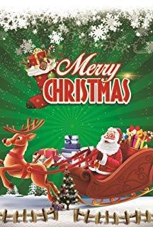 Judy's Flag Santa Claus Garten Flagge Winter Weihnachten Urlaub Dekoration Doppelseitig 31,8x 45,7cm (Garden Flags New Jahren)
