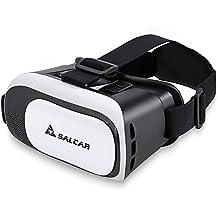 SALCAR lunettes 3D réglable VR casque de réalité virtuelle 3D film et Jeux Vidéo Compatible avec Smartphone, iPhone 6, 6S, Samsung S6 ,S7 etc.