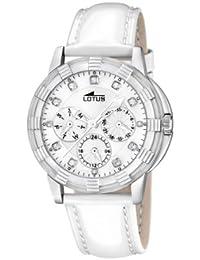 e4184872f7f5 Amazon.es  Lotus - Blanco   Relojes de pulsera   Mujer  Relojes