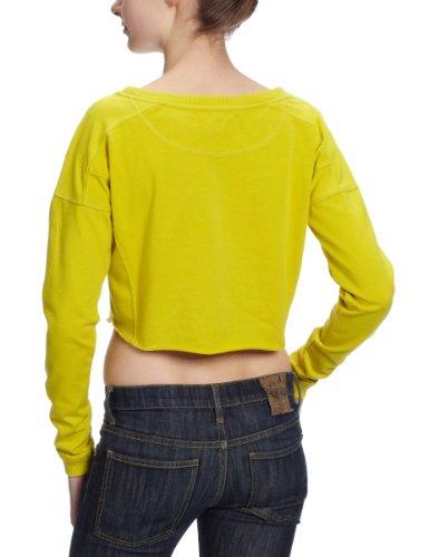 Only - Sweatshirt - Femme Jaune (Celery)