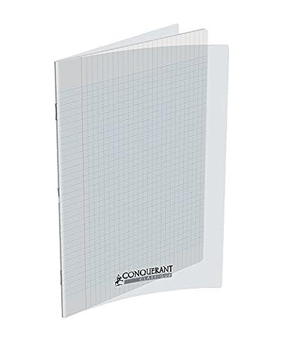 Conquérant Cahier avec couverture en polypro 140 pages 90 g