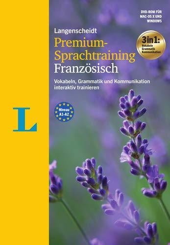 Langenscheidt Premium-Sprachtraining Französisch - DVD-ROM: Vokabeln, Grammatik und Kommunikation...
