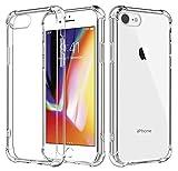 Coque iPhone 6s Coque iPhone 6 Silicone Transparente Souple Ultra Résistante aux...