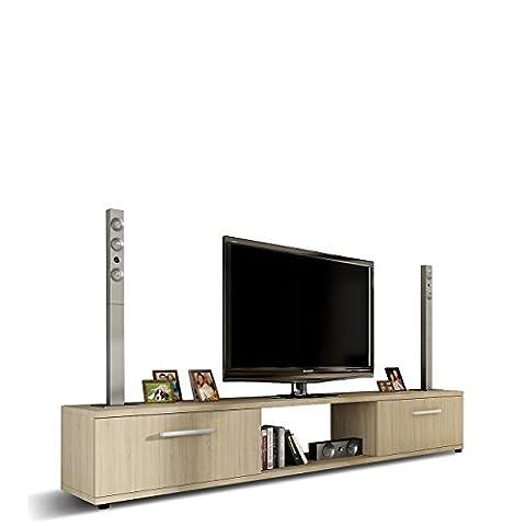 TV Lowboard Board Horton I, TV Schrank, Tisch, Fernsehtisch B:176