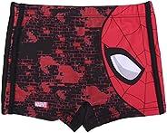Spiderman Bañador para Niños, Bañador Tipo Bóxer, Bañador Slip, Vacaciones, Secado Rápido y Transpirable, Tall