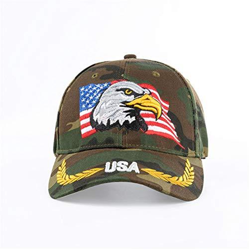 Yosrab Camouflage Baseball Cap Für Männer Frauen Outdoor Sonnenhut Adler Stickerei Sport Hüte Casquette Caps