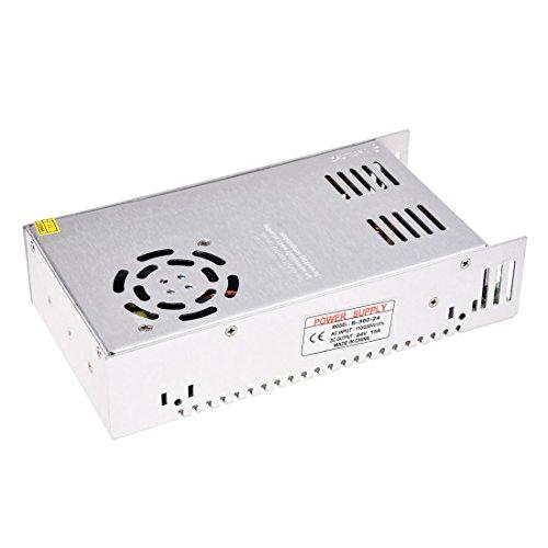 TOOGOO(R) AC110/220V 24V 15A 360W Interruptor de conductor de la fuente de alimentacion para la luz de banda de LED