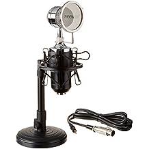Neewer (1)NW-1500 Difusión Sobremesa y Micrófono Condensador+(1)NW-02 hierro 12-19cm Soporte de Micrófono Sobremesa+(1)Montura de Metal Anti-Choque+(1)Filtro Antiviento de Micrófono