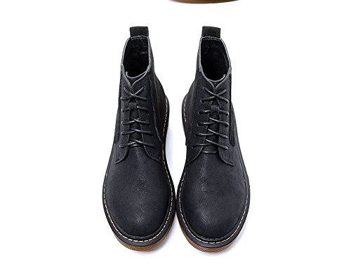Scarpe da donna con spessi stivali tirante black