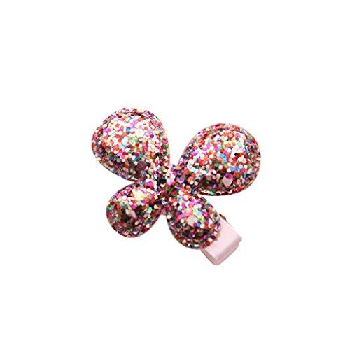 Baby Haarnadel, erthome Baby Kinder Mädchen Haarspange ❤️Kinder Shiny Prinzessin Haarnadel ❤️Pailletten Stern Herz Schmetterling Form Haarspange (G) (Für Beste Ostern-kleider Kleinkinder)