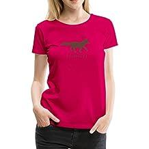 Fuchsiger Fuchs Frauen Premium T-Shirt von Spreadshirt®
