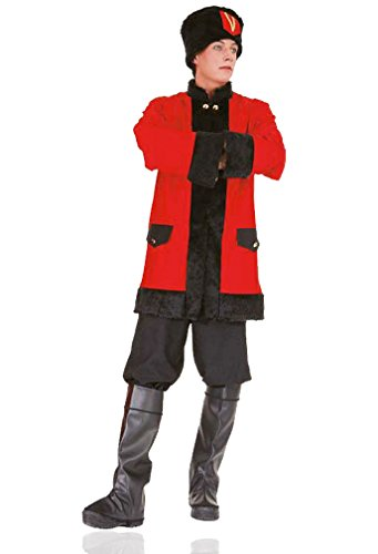 (NET TOYS Kostüm Russischer Kosake Faschingskostüm Kosakenkostüm Kosaken Uniform Russische Krieger)