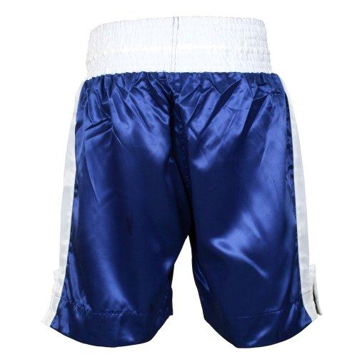 TurnerMAX Boxen Shorts Ausbildung Kampf Muay Thai Kickboxen MMA UFC Blau