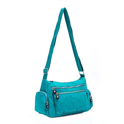Ms. Messenger Bag Femminile BUKUANG Oxford Di Nylon Piccola Borsa Borsa Mamma Di Mezza Età Borsa Da Viaggio Di Tela,P I