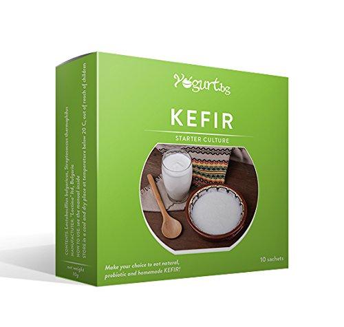 Kefir Yogurt.bg - Yaourt Starter Culture - Santé digestive, détoxifiant - pour 10l